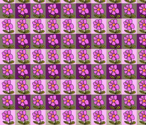 Flower Power fabric by captiveinflorida on Spoonflower - custom fabric