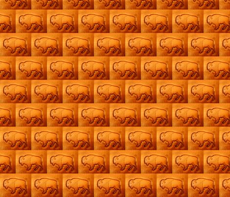 buffalo fabric by darci on Spoonflower - custom fabric