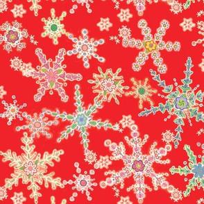 Snowflower Red