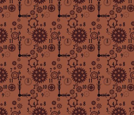 Clockwork 2 fabric by jadegordon on Spoonflower - custom fabric