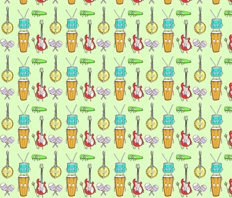 Live Music II fabric by creedancelovesyou on Spoonflower - custom fabric