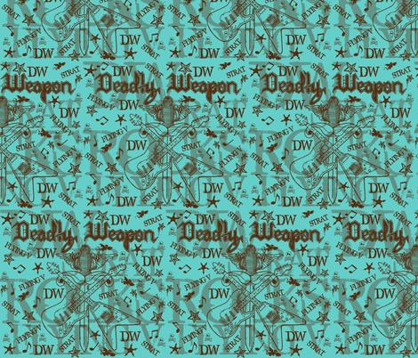 DW ROCKS fabric by paragonstudios on Spoonflower - custom fabric