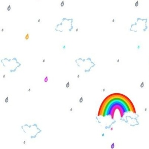 Taste the Rainbow Colored Rain! - © PinkSodaPop 4ComputerHeaven.com