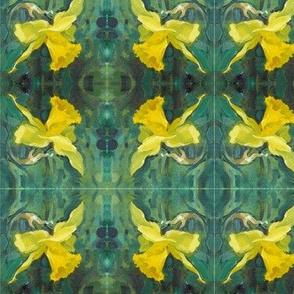 daffodil-oil-pochade-chris-carter-artist-040510b