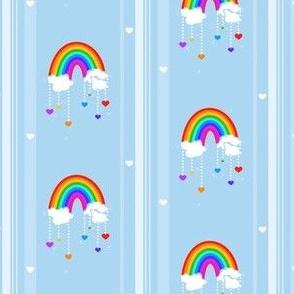 Rainbow Love Storm! - © PinkSodaPop 4ComputerHeaven.com