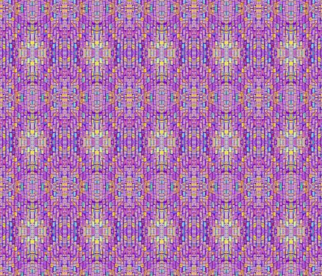 Sharp Purple Bricks fabric by audarrt on Spoonflower - custom fabric