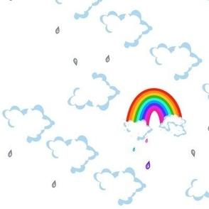 Mega Cloudy - Chance of Rainbow Rain! - © PinkSodaPop 4ComputerHeaven.com