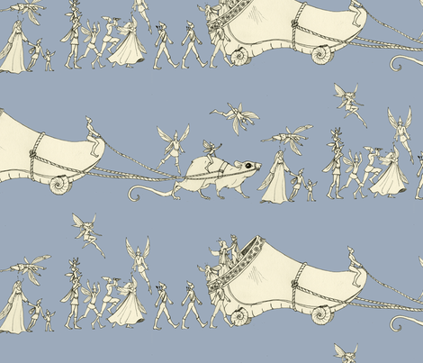 """Whatever Happened to My Garden Clog?..."" fabric by ceanirminger on Spoonflower - custom fabric"