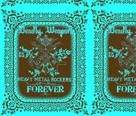 ROCKERS FOREVER fabric by paragonstudios on Spoonflower - custom fabric