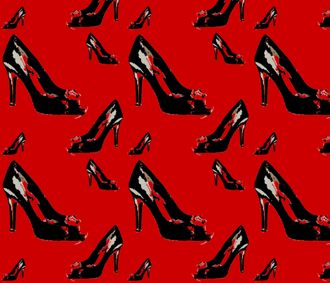 shoes2 fabric by stickelberry on Spoonflower - custom fabric
