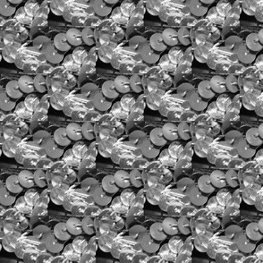 sequins grayscale