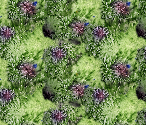 Green Salt fabric by helenklebesadel on Spoonflower - custom fabric
