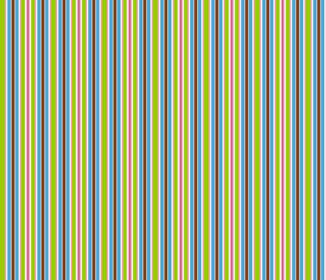 stripes pink green brown blue fabric by mandollyn on Spoonflower - custom fabric