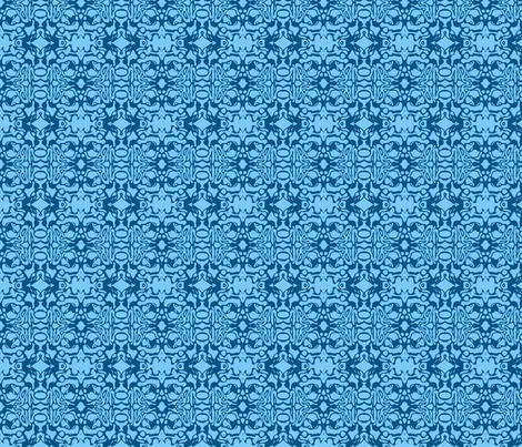 Blue Swirl Batik fabric by weedesigns on Spoonflower - custom fabric