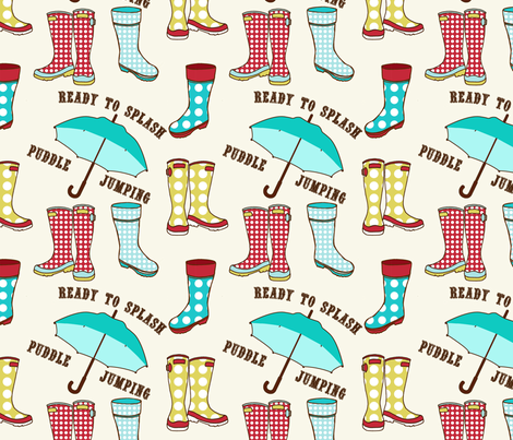 puddle jumpers fabric by mytinystar on Spoonflower - custom fabric