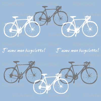 j'aime mon bicyclette