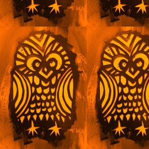 Stencil the Owl