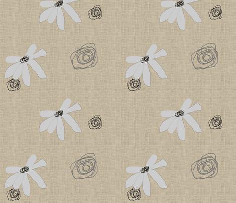 FUNKY FLOWERS-187 fabric by kkitwana on Spoonflower - custom fabric