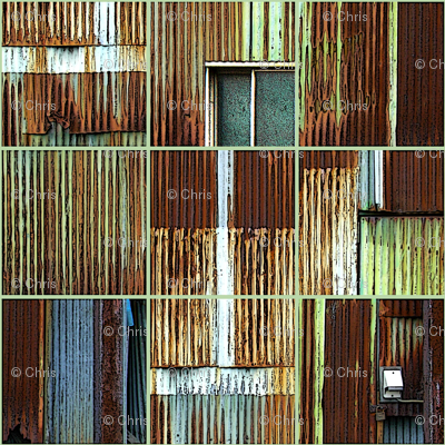 Rusty Door rusty door fabric - chris - spoonflower
