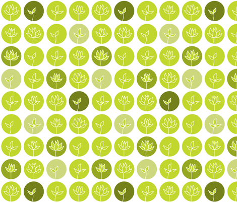 Sprout fabric by creedancelovesyou on Spoonflower - custom fabric