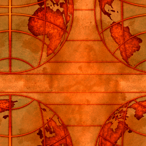 World Map fabric by jadegordon on Spoonflower - custom fabric