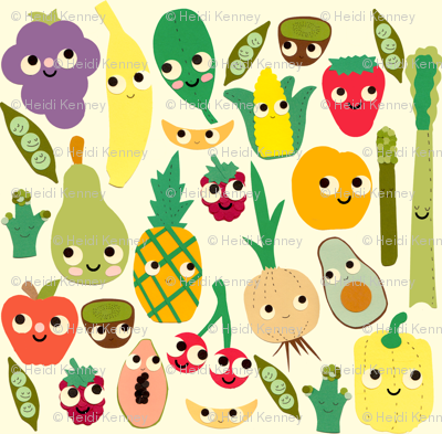 fruit and veggie madness