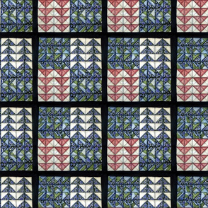 Flying Geese Quilt Square