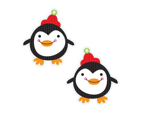 penguin doll fabric by fhiona on Spoonflower - custom fabric