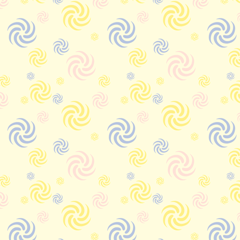 Spiral Wonder! - © PinkSodaPop 4ComputerHeaven.com fabric by pinksodapop on Spoonflower - custom fabric