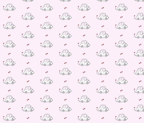 Love Bug II fabric by creedancelovesyou on Spoonflower - custom fabric