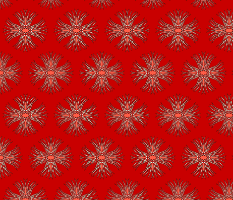 candy_cane_anemone fabric by holli_zollinger on Spoonflower - custom fabric