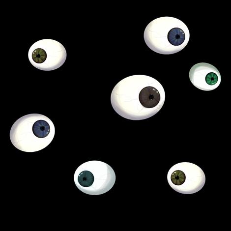 Eyeballs fabric by squarejane on Spoonflower - custom fabric