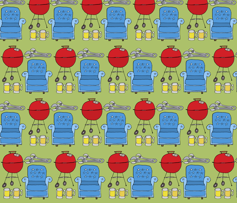 Man Time fabric by creedancelovesyou on Spoonflower - custom fabric