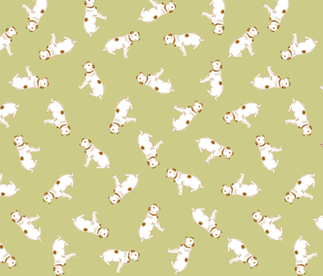 Minnie 3 fabric by tenderlovingclaire on Spoonflower - custom fabric