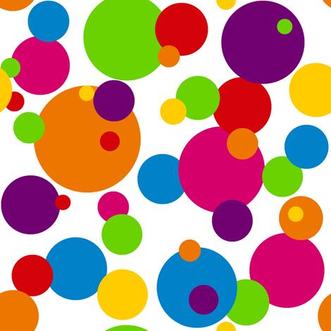 Circus Bubbles fabric by mandollyn on Spoonflower - custom fabric
