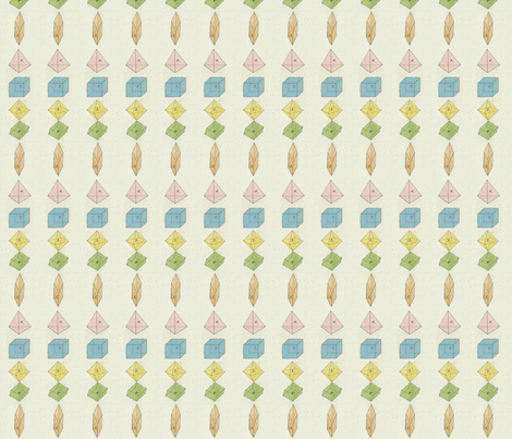spring polygons fabric by saltlabs on Spoonflower - custom fabric