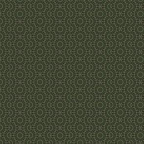 green dragonfly circle