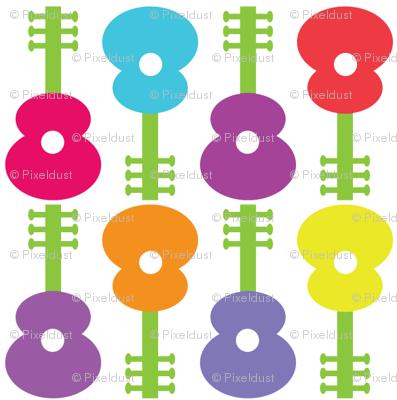 Guitar Flowers CC