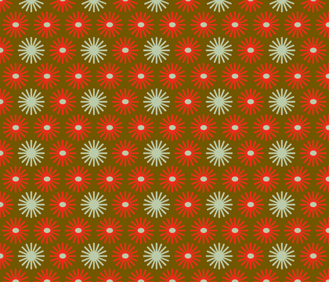 fireworks_red_brown fabric by holli_zollinger on Spoonflower - custom fabric