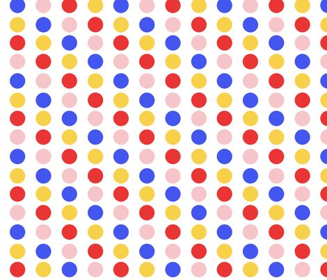 LS Dots fabric by jambochameleon on Spoonflower - custom fabric