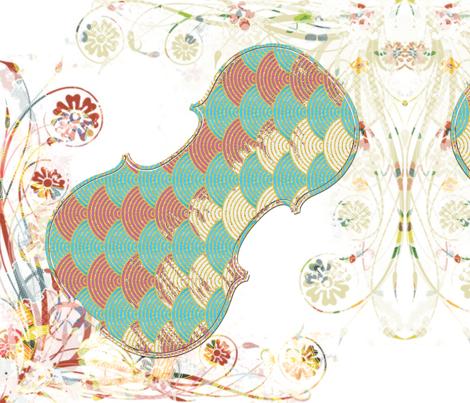 summer_music fabric by snork on Spoonflower - custom fabric