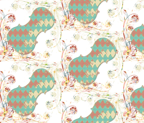 summer_music_small fabric by snork on Spoonflower - custom fabric