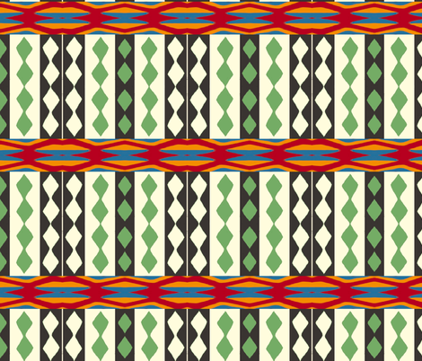 African Beat fabric by weedesigns on Spoonflower - custom fabric