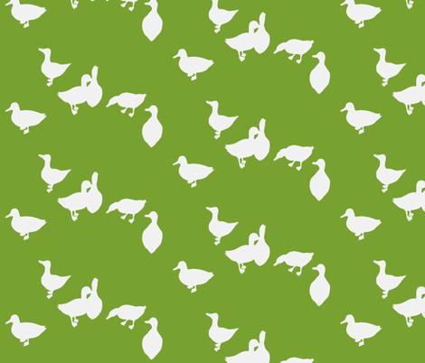 quack quack fabric by leonielovesyou on Spoonflower - custom fabric