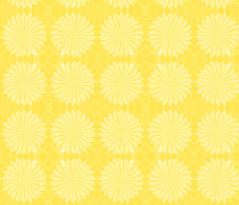 golden dream fabric by winter on Spoonflower - custom fabric