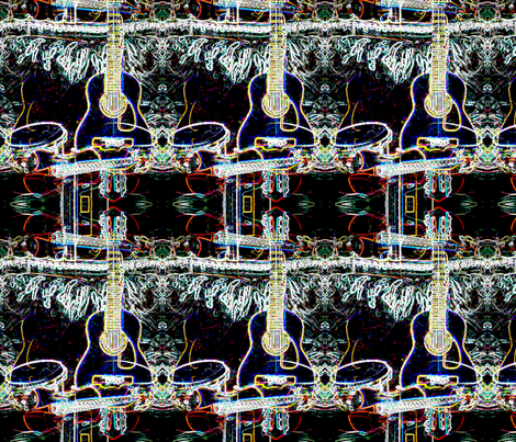 music_x_ten fabric by musica on Spoonflower - custom fabric
