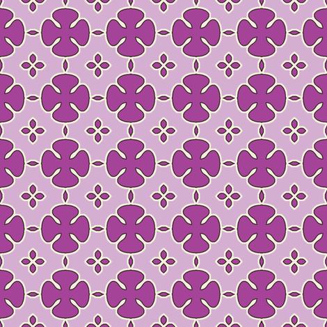 Mosharabi - Amethyst fabric by inscribed_here on Spoonflower - custom fabric