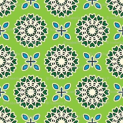 Full Bloom - Bamboo Green