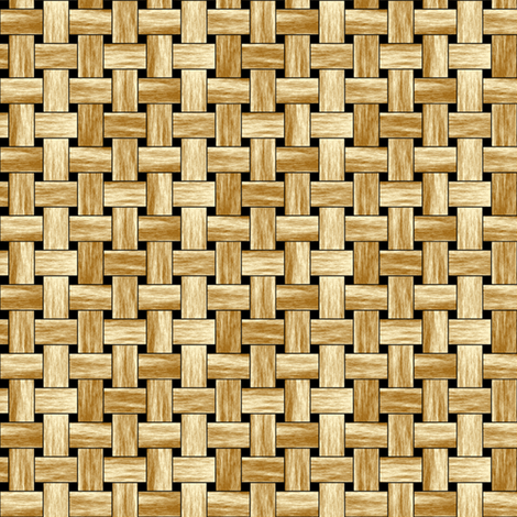 Basket fabric by inscribed_here on Spoonflower - custom fabric