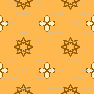 Starry Petals - Sunshine Yellow